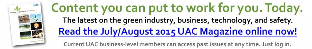 UAC Magazine - July/August 2015
