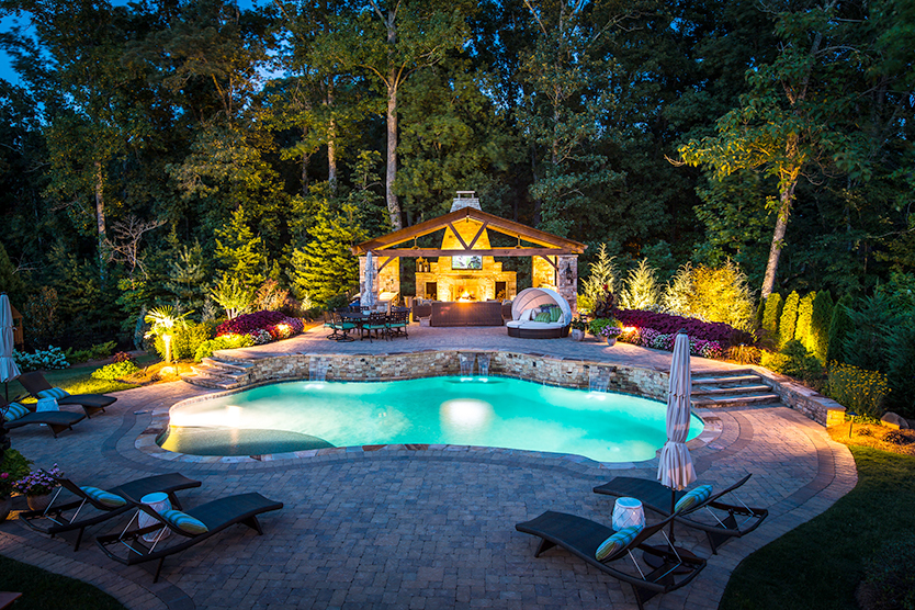 Outdoor Living Spaces With Pool 5