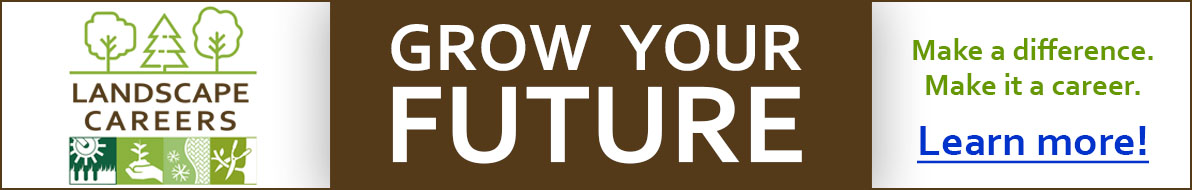 Grow your future - landscape careers